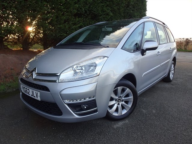 used Citroen C4 Grand Picasso HDI (110bhp) (7 x Seat) in herefordshire-for-sale