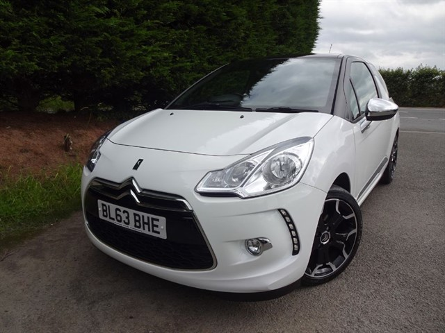 used Citroen DS3 HDI-E Airdream D-Sport Plus (110bhp) in herefordshire-for-sale