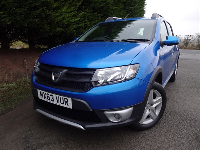 used Dacia Sandero DCI Stepway Ambiance (90bhp) in herefordshire-for-sale