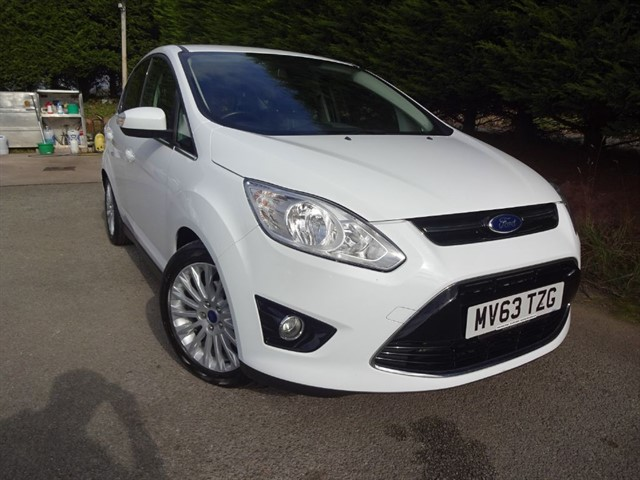 used Ford C-Max TDCI Titanium (115bhp) in herefordshire-for-sale