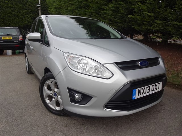 used Ford C-Max TDCI Zetec (115bhp) in herefordshire-for-sale