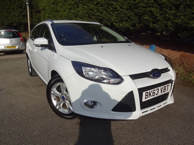 used Ford Focus TDCI Zetec (115bhp) (Estate) in herefordshire-for-sale