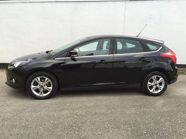 used Ford Focus TITANIUM NAVIGATOR TDCI in herefordshire-for-sale