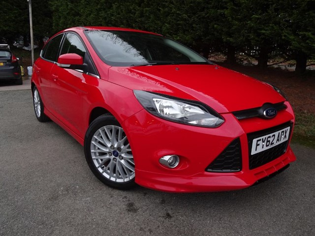used Ford Focus TDCI Zetec S (115bhp) in herefordshire-for-sale