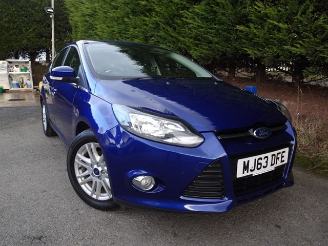 used Ford Focus Titanium TDCI (115bhp) in herefordshire-for-sale