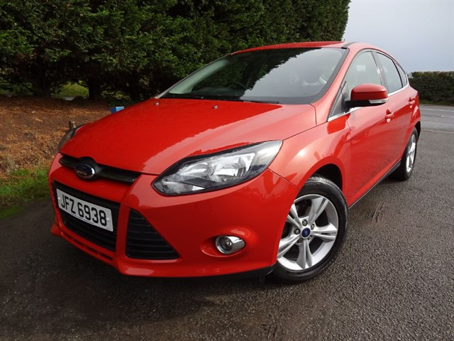 used Ford Focus Zetec (105bhp) in herefordshire-for-sale