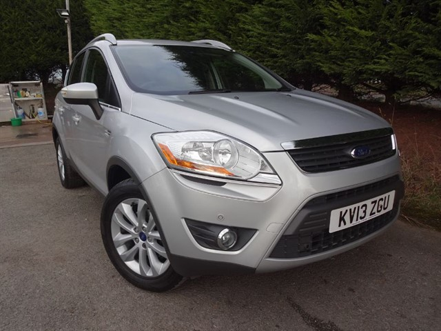 used Ford Kuga TDCI Titanium (140bhp) (AWD) in herefordshire-for-sale