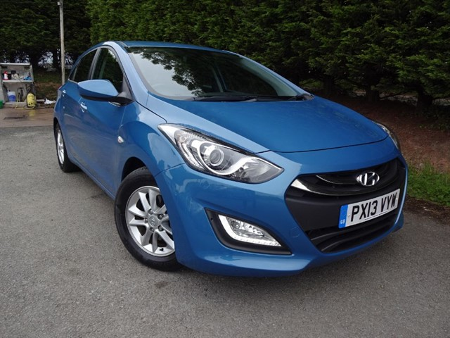 used Hyundai i30 CRDI Active Blue Drive (110bhp) in herefordshire-for-sale