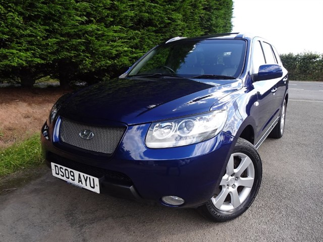 used Hyundai Santa Fe CRTD CDX (7 x Seat) in herefordshire-for-sale