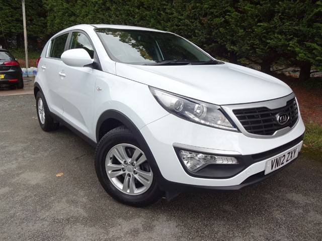 used Kia Sportage CRDI Level 1 (115bhp) in herefordshire-for-sale