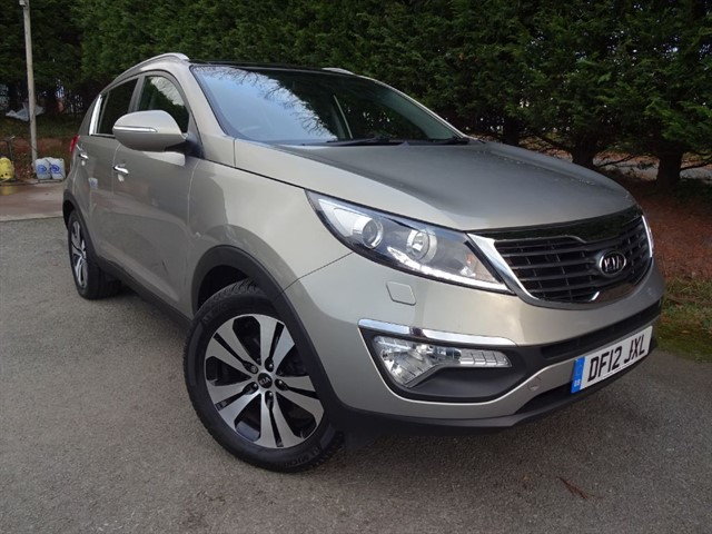 used Kia Sportage CRDI Level 3 (115bhp) in herefordshire-for-sale
