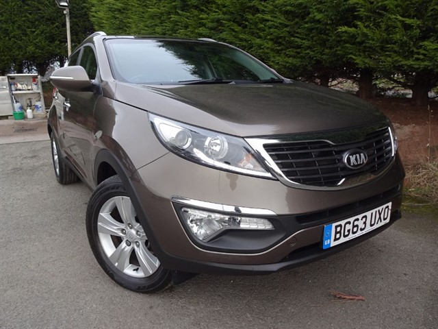 used Kia Sportage CRDI Level 2 (115bhp) in herefordshire-for-sale