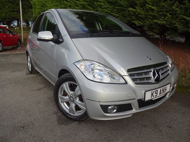 used Mercedes A160 CDI Avantgarde SE (80bhp) in herefordshire-for-sale