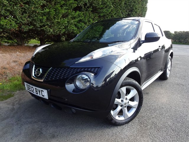 used Nissan Juke DCI Acenta (110bhp) in herefordshire-for-sale