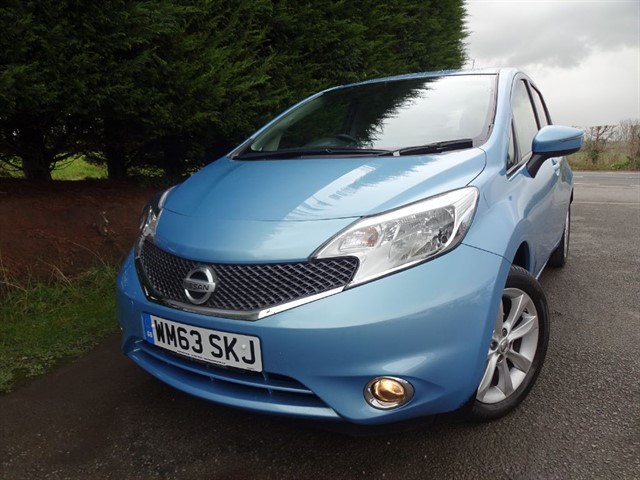 used Nissan Note DIG-S Acenta Premium (100bhp) (Auto) in herefordshire-for-sale