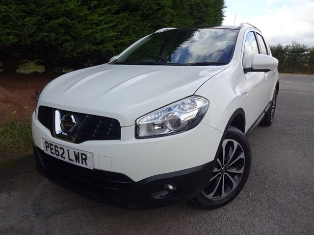 used Nissan Qashqai+2 DCI N-Tec Plus (110bhp) in herefordshire-for-sale