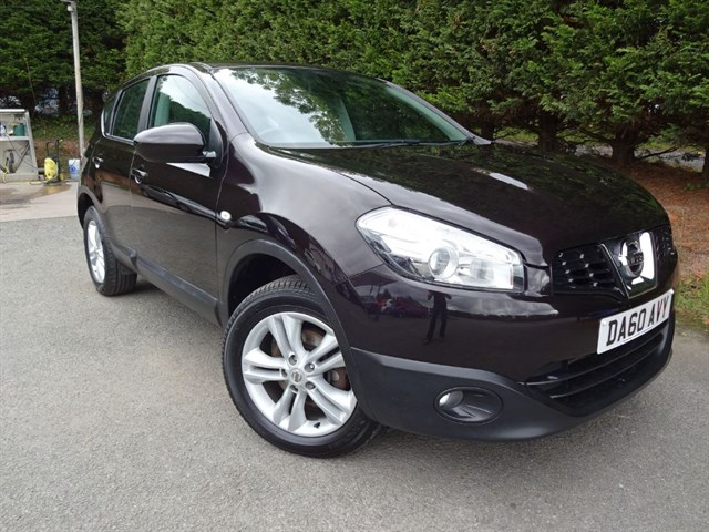 used Nissan Qashqai DCI Acenta (110bhp) in herefordshire-for-sale