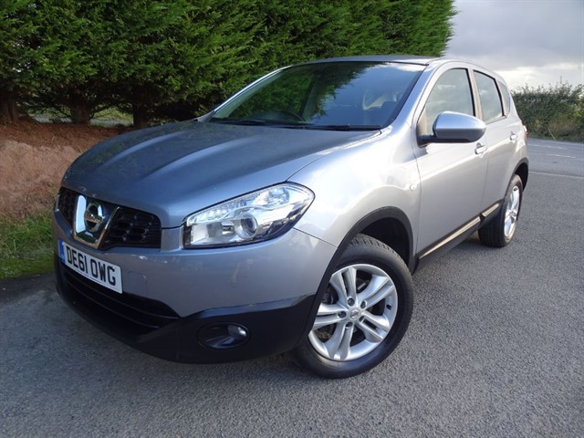 used Nissan Qashqai ACENTA DCI in herefordshire-for-sale