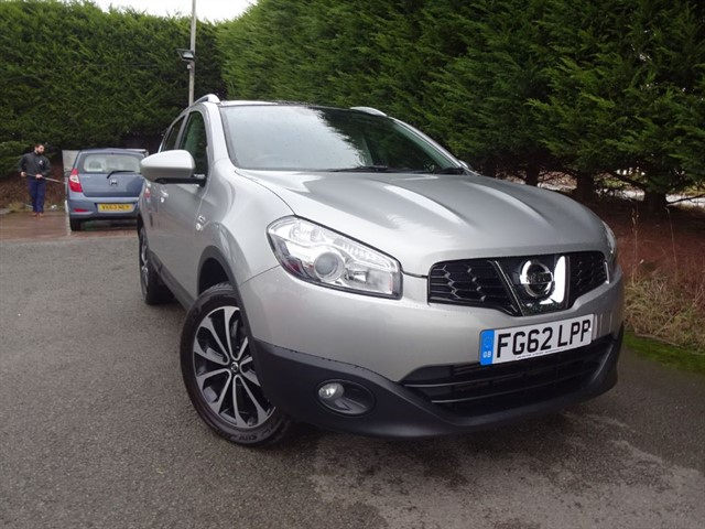 used Nissan Qashqai DCI N-Tec Plus (110bhp) in herefordshire-for-sale