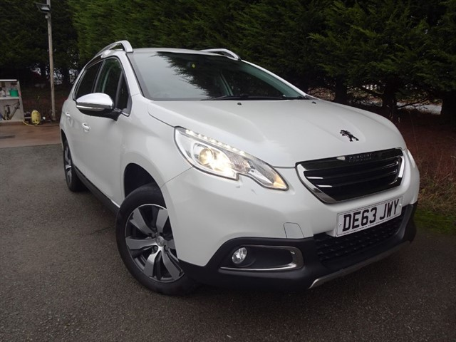 used Peugeot 2008 E-HDI Allure (90bhp) in herefordshire-for-sale
