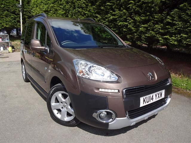 used Peugeot Partner Tepee HDI Outdoor (90bhp) in herefordshire-for-sale