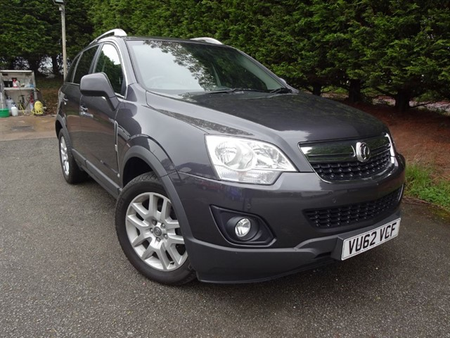 used Vauxhall Antara CDTI Exclusiv (160bhp) (4x4) in herefordshire-for-sale