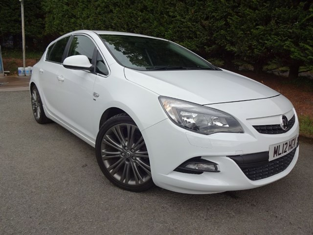 used Vauxhall Astra SRI VX-Line (115bhp) in herefordshire-for-sale