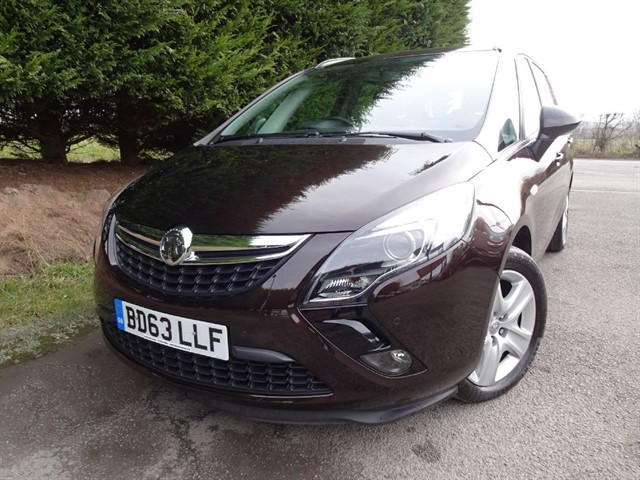 used Vauxhall Zafira Tourer CDTI Exclusiv (130bhp) (7 x Seat) in herefordshire-for-sale