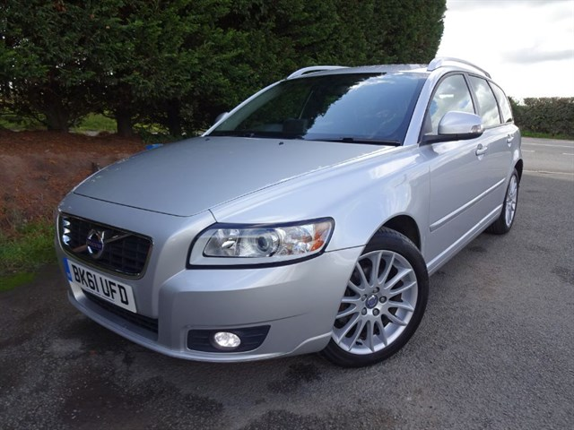used Volvo V50 D SE Lux Edition (115bhp) in herefordshire-for-sale