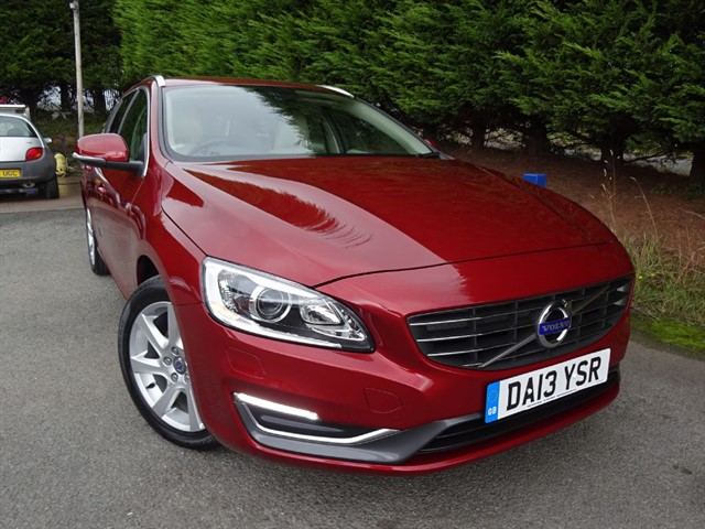 used Volvo V60 D2 SE LUX (115bhp) in herefordshire-for-sale