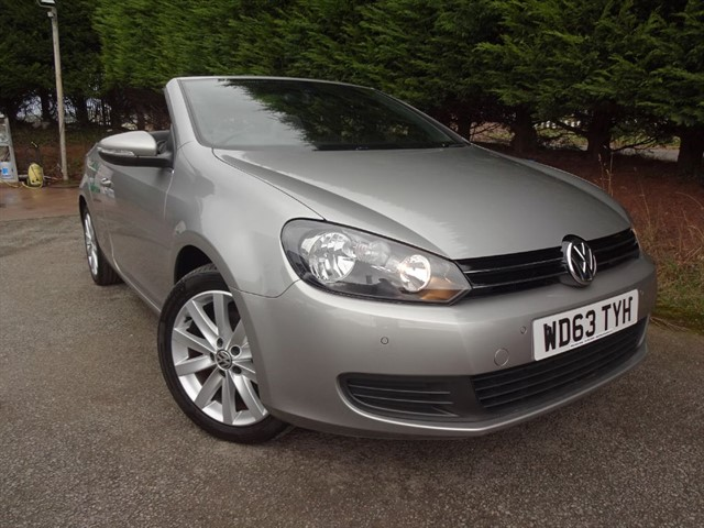 used VW Golf TDI Bluemotion-Tech SE (105bhp) (Convertible) in herefordshire-for-sale
