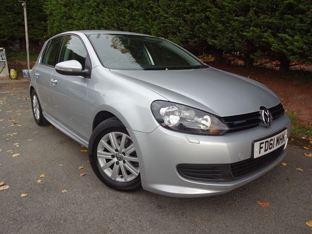 used VW Golf TDI Bluemotion S (105bhp) in herefordshire-for-sale