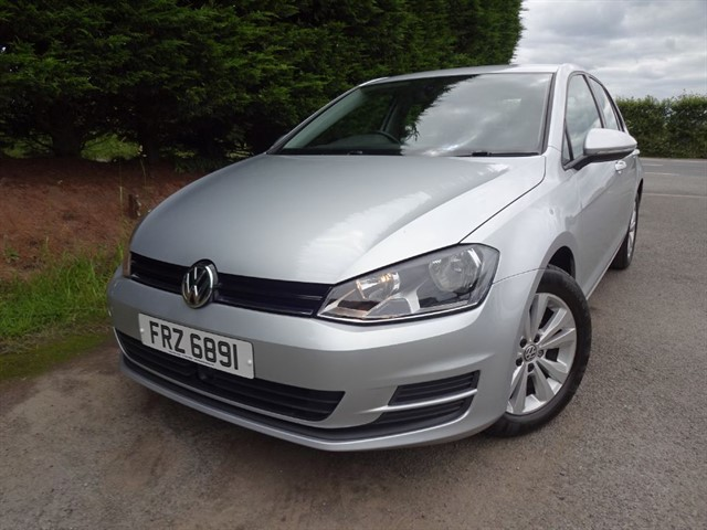 used VW Golf TDI Bluemotion-Tech SE (105bhp) (NEW MODEL) in herefordshire-for-sale