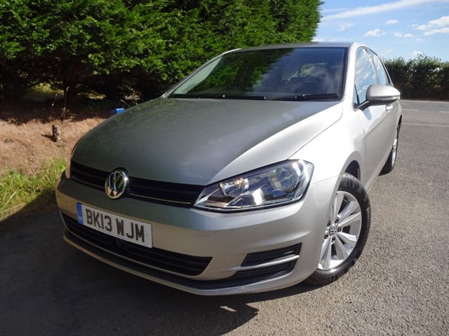 used VW Golf TSI Bluemotion-Tech SE (120bhp) in herefordshire-for-sale