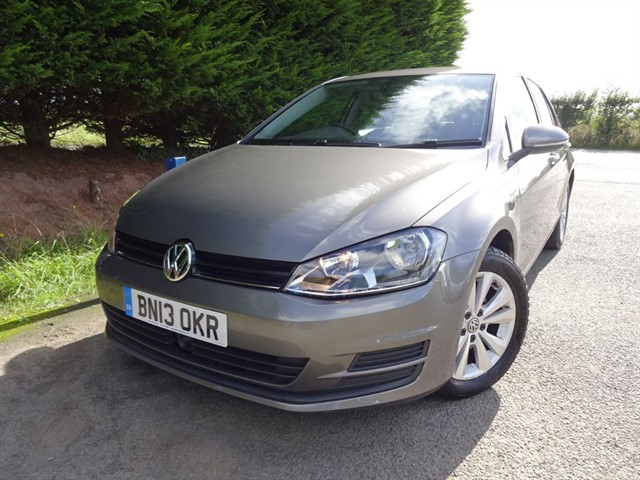used VW Golf TSI SE Bluemotion-Tech (122bhp) in herefordshire-for-sale