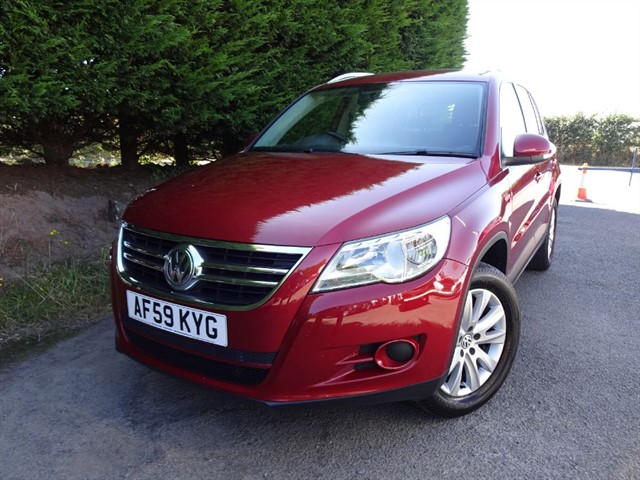 used VW Tiguan TDI SE 4Motion (140bhp) (AWD) in herefordshire-for-sale