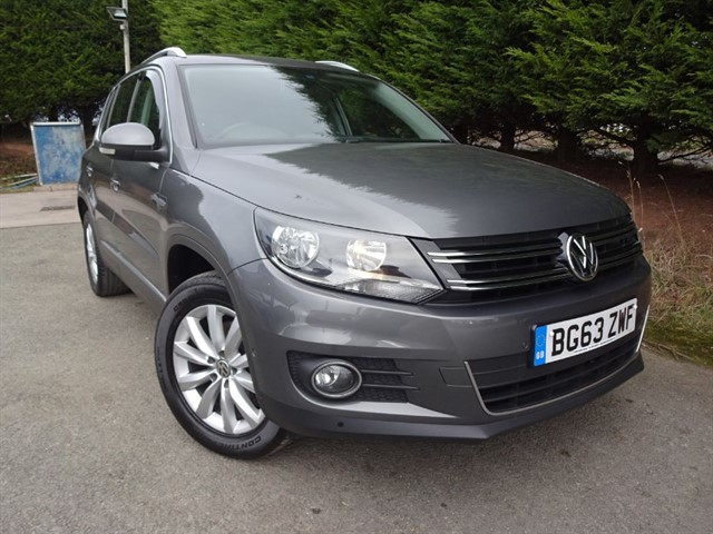 used VW Tiguan TDI 4-Motion Match B/M-Tech (140bhp) (4x4) in herefordshire-for-sale