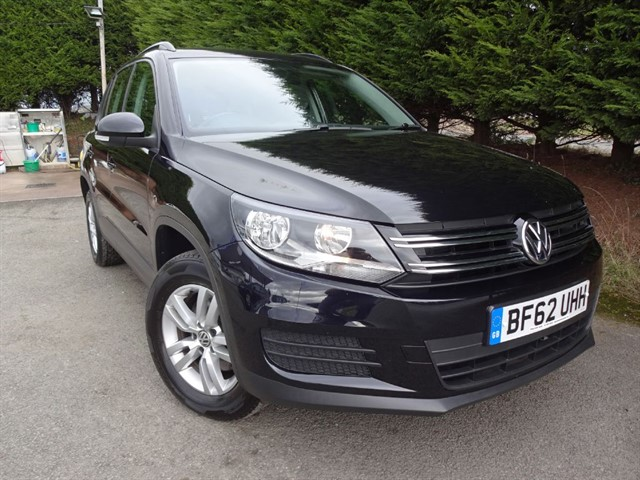 used VW Tiguan TDI 4-Motion S B/M-Tech (140bhp) (4x4) in herefordshire-for-sale