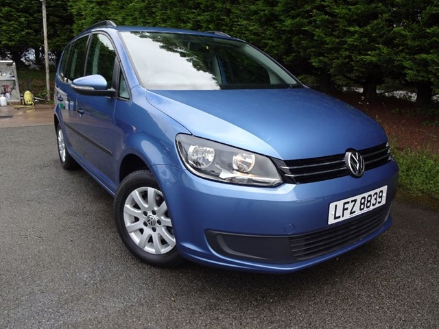 used VW Touran TDI S (105bhp) (7 x Seat) in herefordshire-for-sale