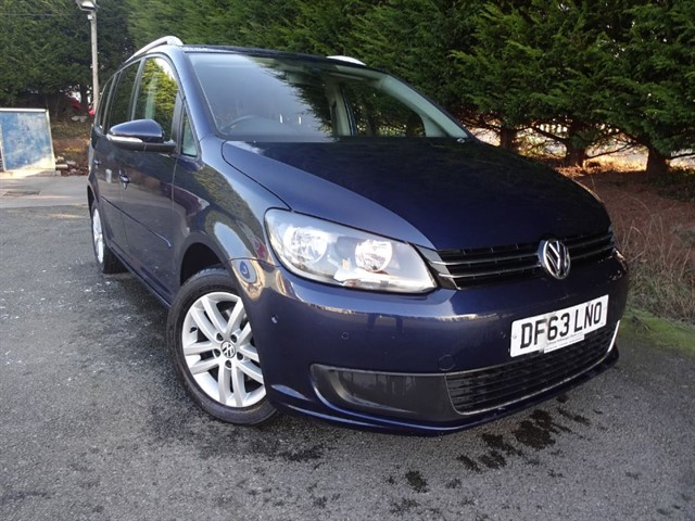 used VW Touran TDI SE Bluemotion (105bhp) (7 x Seat) in herefordshire-for-sale