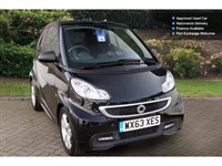 Used Smart Car Fortwo Cabrio Edition21 Mhd 2Dr Softouch Auto Cabriolet