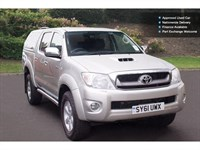 Used Toyota Hilux Invincible 2010 D/Cab Pickup D-4D 4Wd 171 Auto