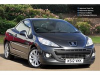 Used Peugeot 207 Vti Allure 2Dr Auto Cabriolet