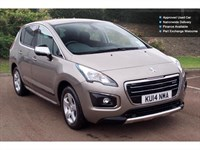 Used Peugeot 3008 E-Hdi Hybrid4 Active 5Dr Egc Diesel/Electric Estate