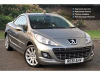 Used Peugeot 207 Vti Gt 2Dr Auto Cabriolet