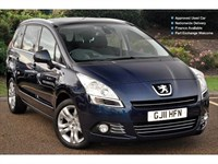 Used Peugeot 5008 Hdi 112 Exclusive 5Dr Egc Estate