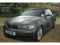Used BMW 135i 1-series M Sport 2Dr Step Auto Convertible