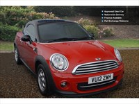 Used MINI Cooper Coupe Cooper 3Dr Auto