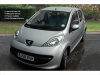 Used Peugeot 107 Urban Move 5Dr Hatchback