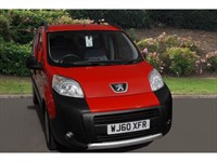 Used Peugeot Bipper Tepee Hdi 70 Outdoor 5Dr 2-Tronic Estate